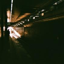 上野毛駅から通勤が始まる。