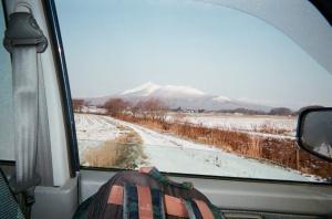 高橋さんの通勤途中の風景