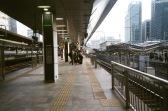 東京駅の新幹線ホーム
