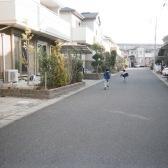 家のある住宅街