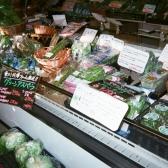 帰り際に立ち寄る野菜のスーパー