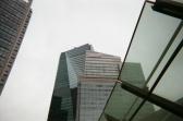 会社の近くは高層ビルが林立するエリア