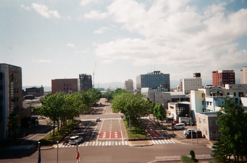 市役所からの眺め