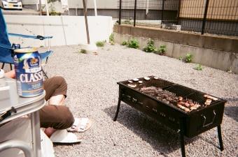 夏のバーベキュー