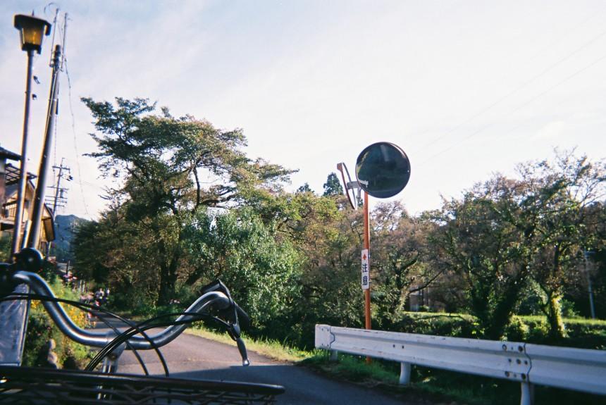 自転車で中津川へ