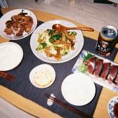 遅めの夕食